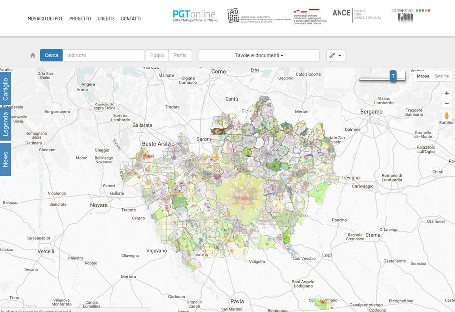 Implementata la piattaforma web per la consultazione dei for Piani di costruzione della piattaforma gratuiti